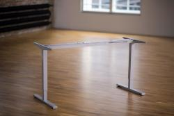 Height Adjustable Desk Ergo2Move 1M silver-grey (Steel)