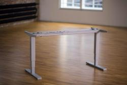 Height Adjustable Desk Ergo2Move Expander silver-grey (Steel)